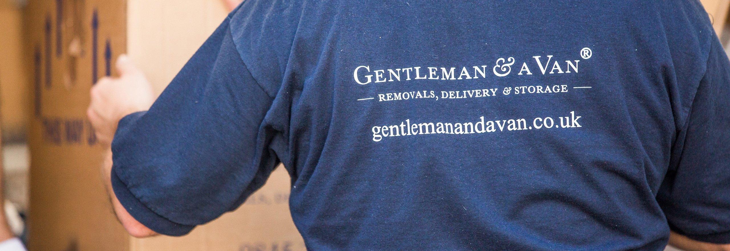 Gentleman and a van width=