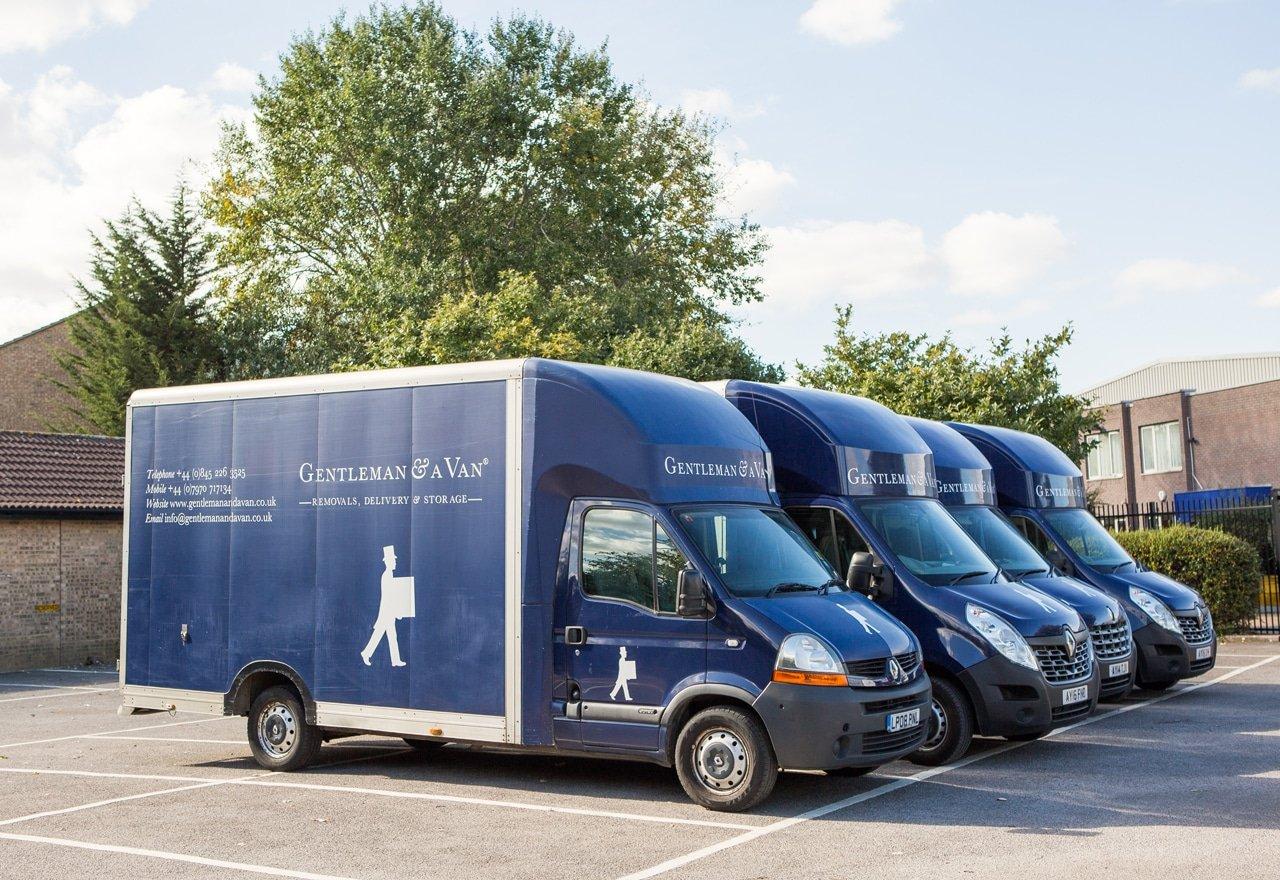 gentleman and a van smaller vehicles
